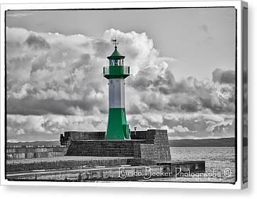 Lighthouse Baltic Sea Canvas Print by Enrico Becker