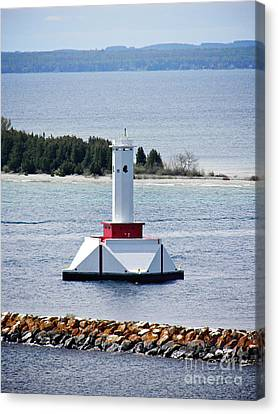 Lighthouse Canvas Print by Emily Kelley
