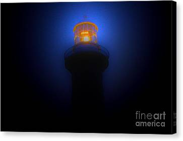 Lighthouse Glow Canvas Print by Joanne Kocwin