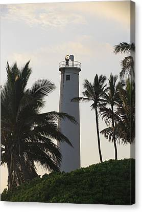 Lighthouse In Hawaii Canvas Print