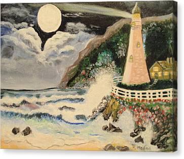 Lighthouse Canvas Print by Maria Medina