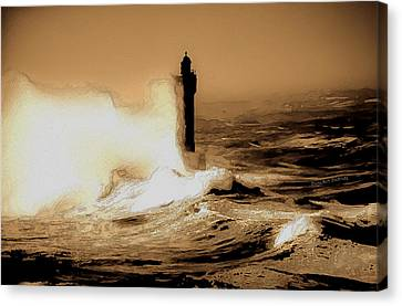 Lighthouse Of The Sea Canvas Print