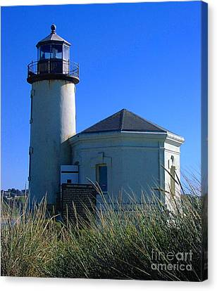 Canvas Print featuring the photograph Lighthouse by Rory Sagner