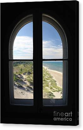 Lighthouse Window Canvas Print
