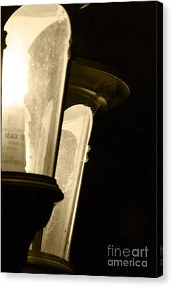 Canvas Print featuring the photograph Lighting The Way by Gary Brandes