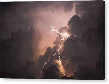 Lightning Man Canvas Print by Paul Madura