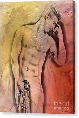 Like A Natural Man Canvas Print by Mark Ashkenazi