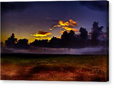 Like The First Morning Canvas Print by Frank SantAgata