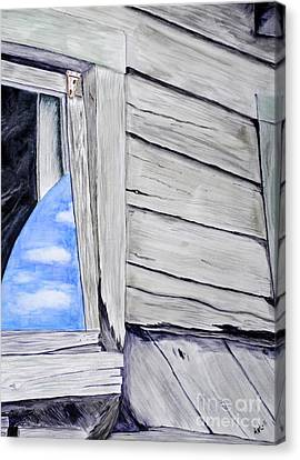 Lil House Canvas Print by Art Hill Studios
