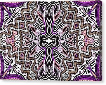 Lilac Garden4 Canvas Print by Samar Asamoah