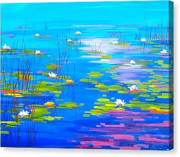 Liliburloo Canvas Print