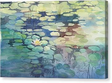 Lily Pond I Canvas Print