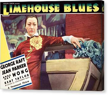 Limehouse Blues, Anna May Wong, 1934 Canvas Print by Everett