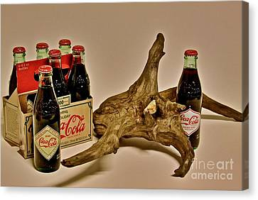 Canvas Print featuring the photograph Limited Edition Coke by Joe Finney
