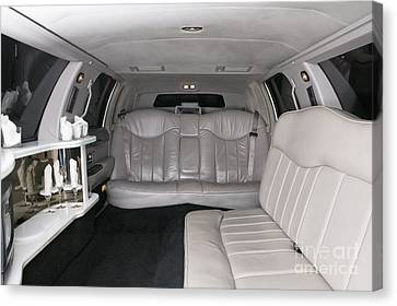 Limousine Interior Canvas Print by Andersen Ross