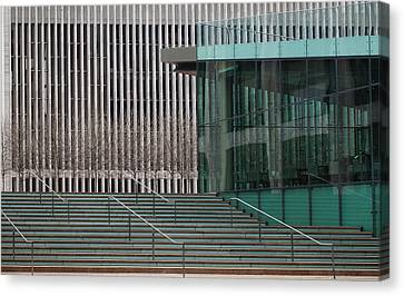 Lincoln Center Lines Canvas Print
