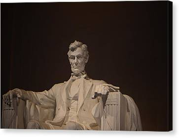Lincoln Memorial 002 Canvas Print by George Bostian
