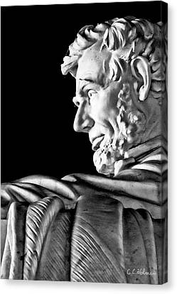 Lincoln Profile Canvas Print by Christopher Holmes