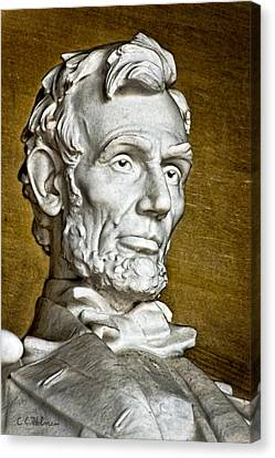 Lincoln Profle 2 Canvas Print by Christopher Holmes
