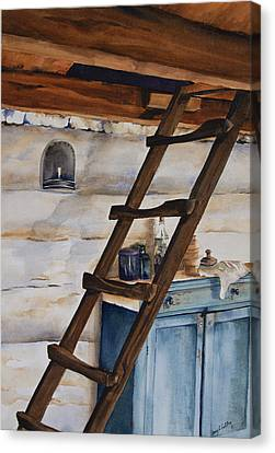 Lincoln's Ladder Canvas Print by Amy Caltry