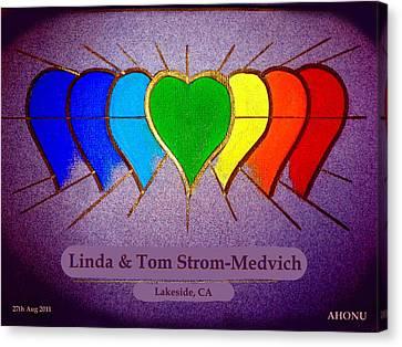 Linda And Tom Canvas Print
