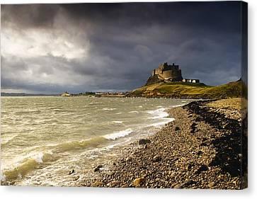 Lindisfarne Castle, Holy Island Canvas Print by John Short