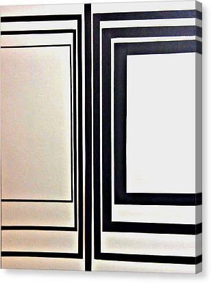 Line Variations Canvas Print