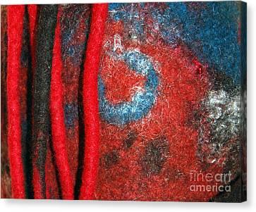 Lined Up Reds     Canvas Print by Alexandra Jordankova