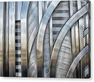 Canvas Print featuring the photograph Lines And Curves by Tammy Espino