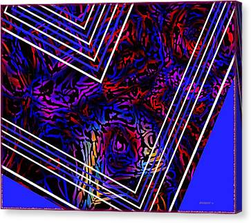 Lines And Tones Canvas Print by Mario Perez