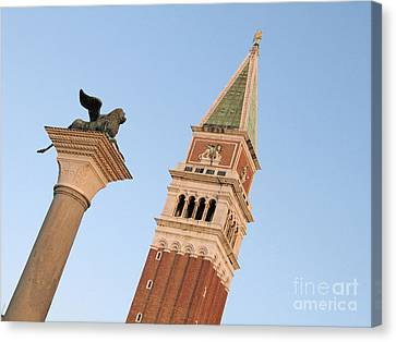 Serenisim Canvas Print - Lion Of Venice by Bernard Jaubert