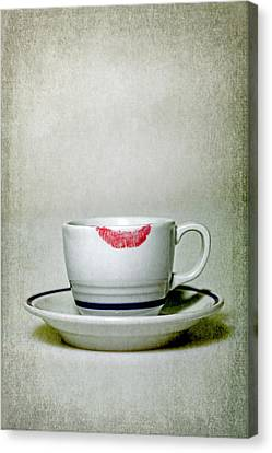 Lip Marks Canvas Print