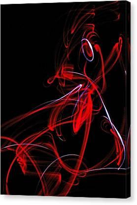 Liquid Ebergy 6 Canvas Print by Cyryn Fyrcyd