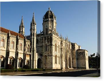 Lisbon, Portugal - Monasterio De Los Jerónimos De Canvas Print