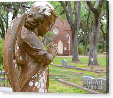 Canvas Print featuring the photograph Little Angel by Jeanne  Woods