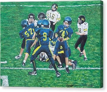 Little Big Hitters  Canvas Print