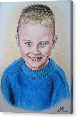 Little Boy Commissions Canvas Print by Andrew Read
