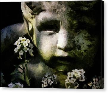 Little Boy Of Stone Canvas Print by Gun Legler