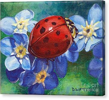 Little Lady Canvas Print by Darlene Watters