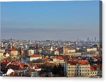 Little Mother Prague Canvas Print by Christine Till