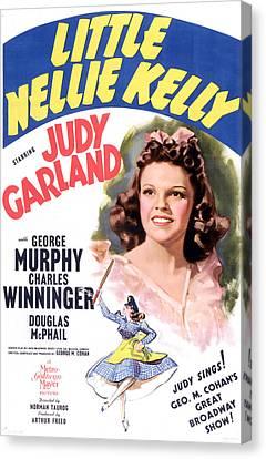 Little Nellie Kelly, Judy Garland, 1940 Canvas Print by Everett