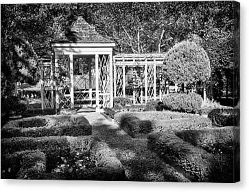 Little Park In Philadelphia 2 Canvas Print by Val Black Russian Tourchin