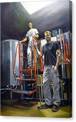 Live Oak Brewing Company Austin Texas Canvas Print by Gregg Hinlicky