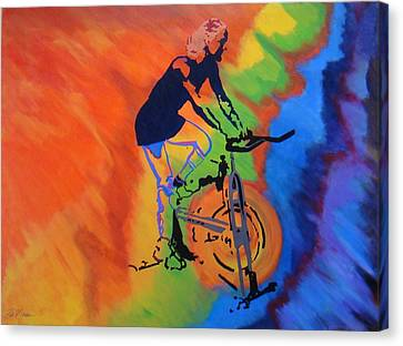 Canvas Print - Live To Ride by Bill Manson