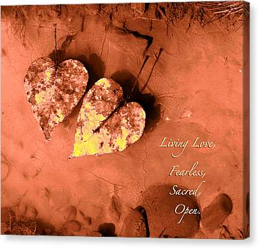 Living Love Canvas Print