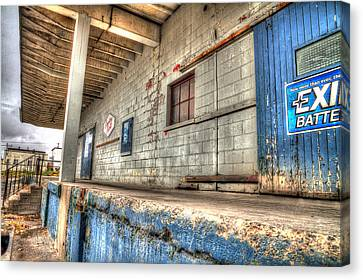 Loading Dock Canvas Print