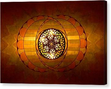 Lobby Lighting Canvas Print by Accent on Photography