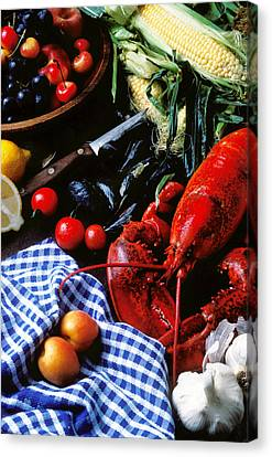 Lobster Canvas Print by Garry Gay