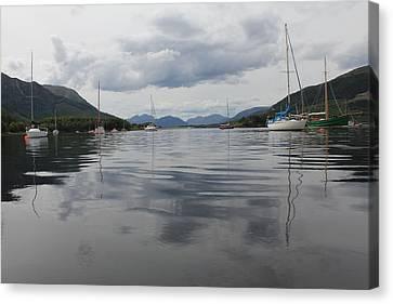 Loch Leven - Glencoe Canvas Print