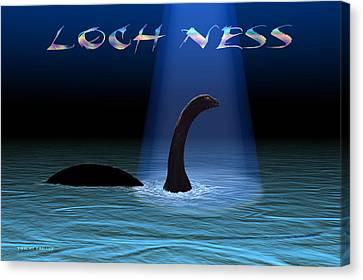 Loch Ness 1 Canvas Print